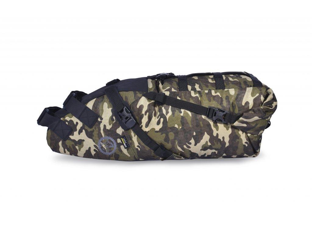 Acepac Saddle Bag L Seteveske 16L, 690 gram, Vanntett