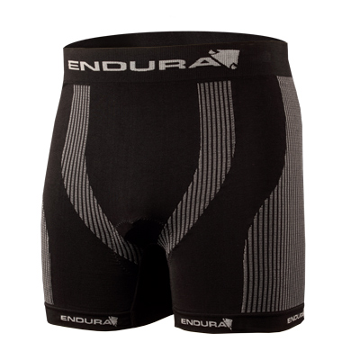 Endura Engineered Padded Bokser Sort, Sømløs og med padding!