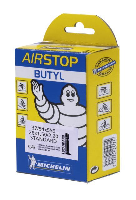 Michelin C4 37/62- 559 AV Slange Butyl, 26