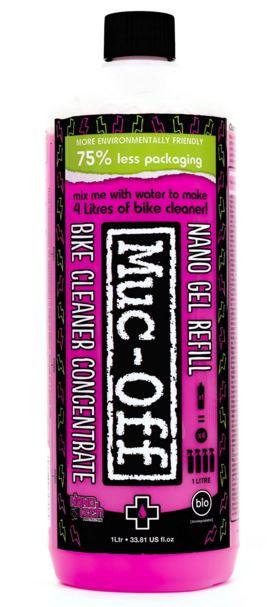 Muc-off Bike Cleaner Konsentrat 1L Konsentrat, blir til 4 liter sykkelvask!