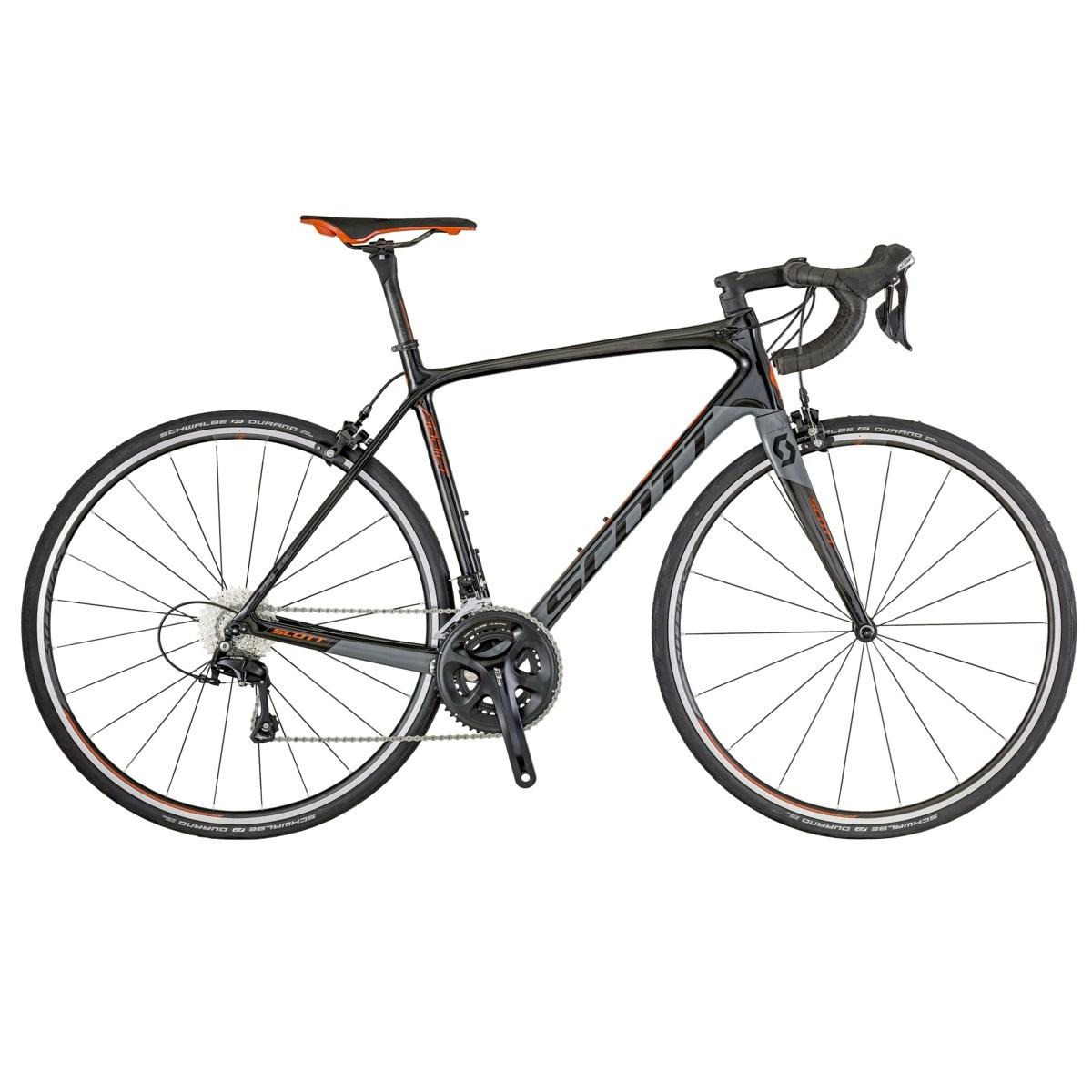 Scott Addict 20 Landeveissykkel Karbon, Shim 105 5800, 7,85 kg
