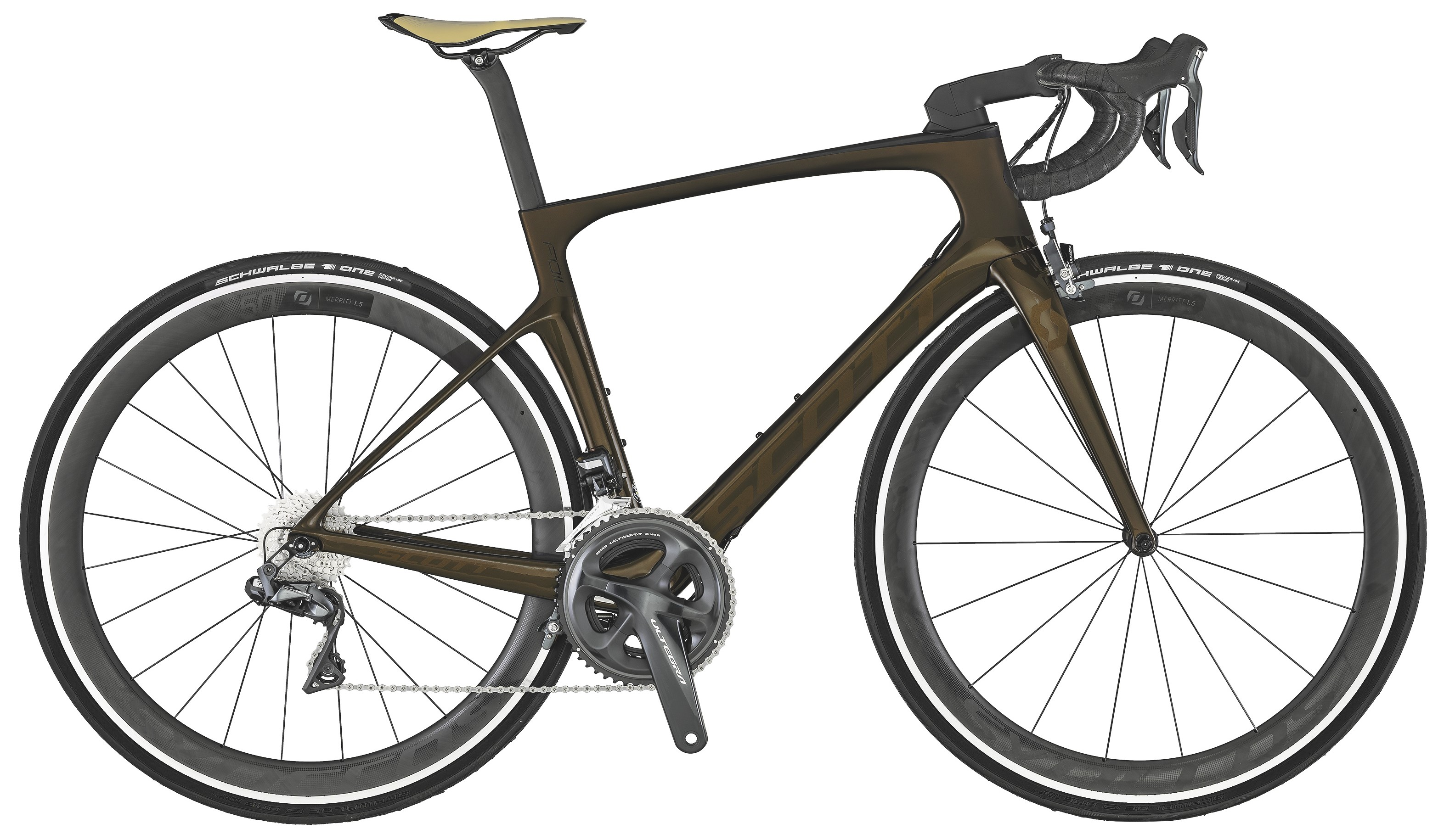 Scott Foil 10 Di2 Landeveissykkel Karbon, Ultegra R8050, 7,86 kg
