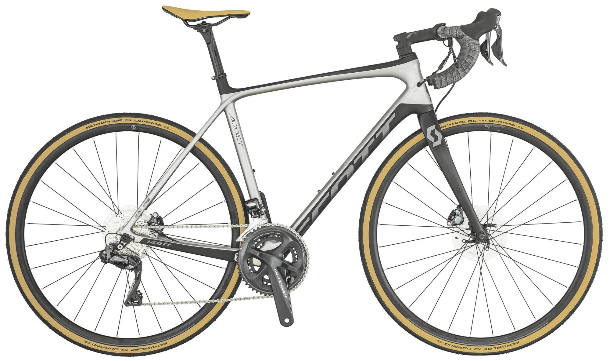 Scott Addict SE Disc Landeveissykkel Karbon, Ultegra Di2 R8050, 8,3 kg