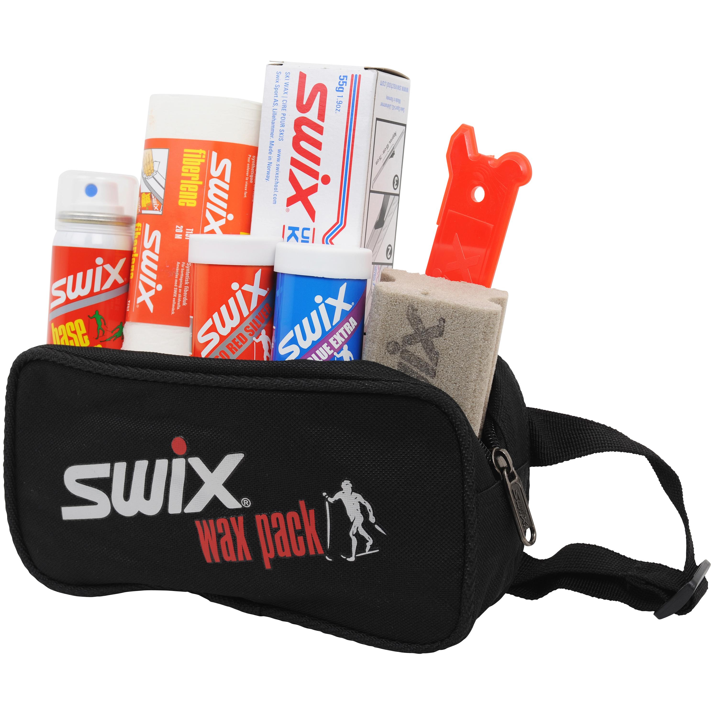 Swix Wax Pack Smørepakning m/Belte Inneholder 7 produkter!