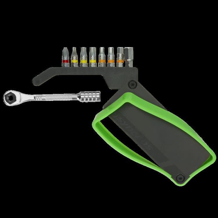 Syncros Lighter 8 Multiverktøy 8 Verktøy, Mini-skralle, 123g