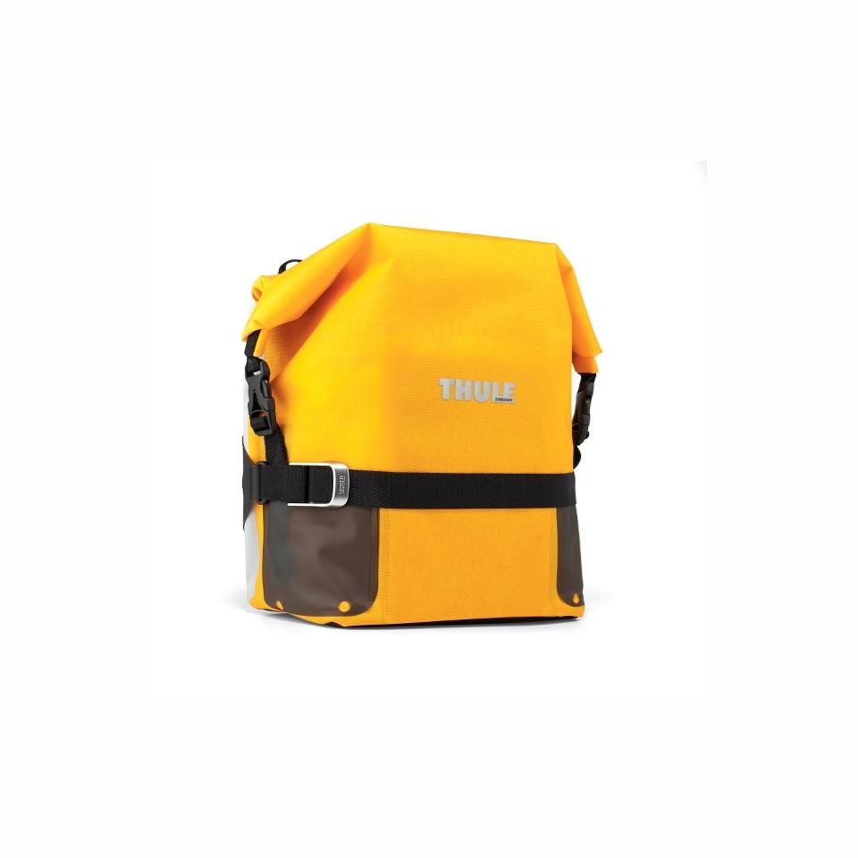Thule Pack'n Pedal Adventure Sideveske Gul, 16L, Small, 1026gr, 30c30c14cm