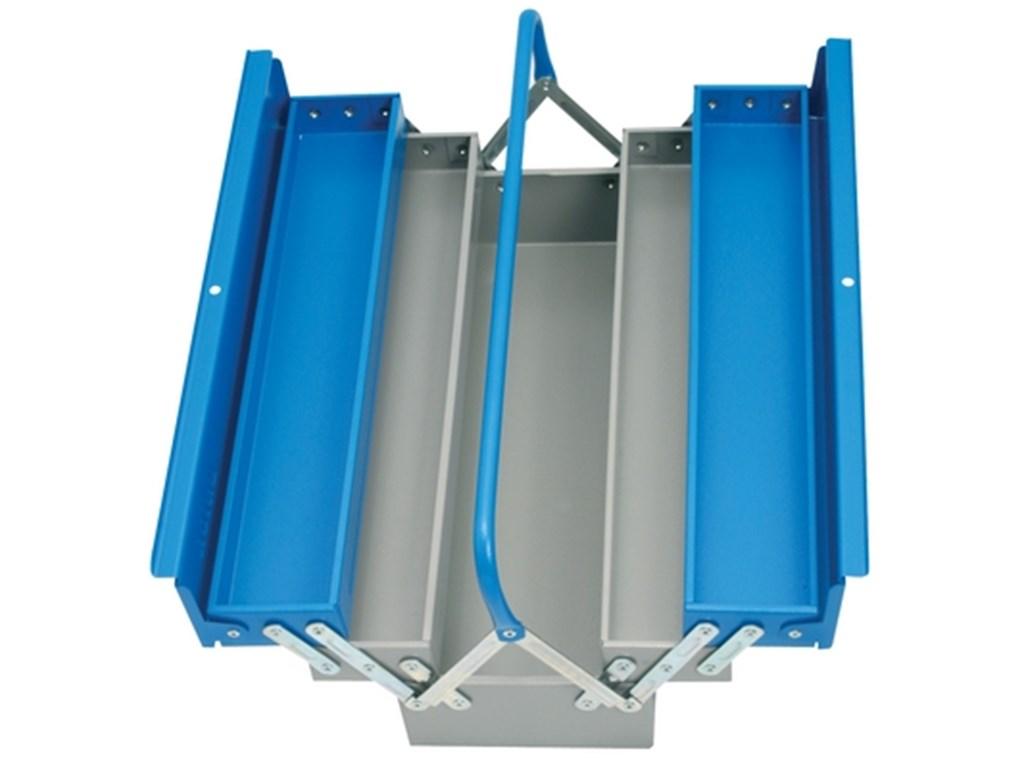 Unior Verktøykasse 5 rom for oppbevaring av verktøy