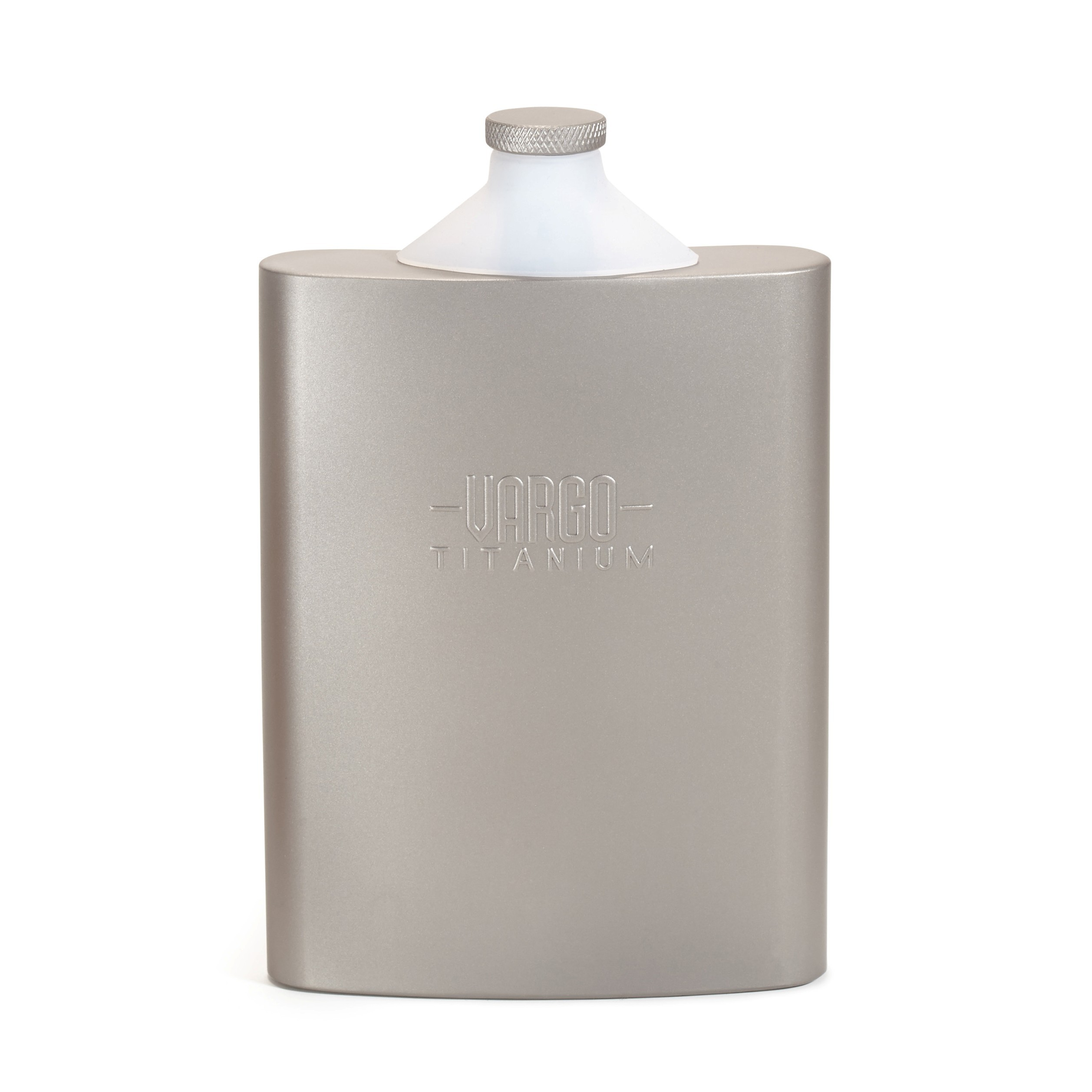 Vargo Titan Lommelerke Flaske Sølv, 240 ml, 105g