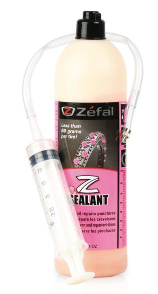 Zefal Z Sealant Tubeless Guffe 1,0 liter. M/sprøyte
