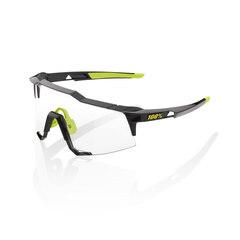100% Speedcraft Long Lens Briller Gloss Black/Photochromic Linse