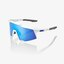 100% Speedcraft Extra Short Lens Briller Hvit, Blue Multilayer Mirror linse
