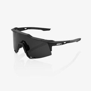 100% Speedcraft Extra Short Lens Briller Sort, Smoke linse