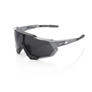 100% Speedtrap HD Mirror Briller Grå - Smoke linse