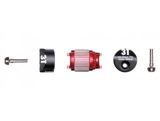 3T Difflock Mechanism Oval Caps, 9 x 7 mm
