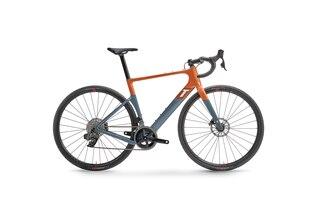 3T Exploro Max Rival AXS 2x Gravelcykel Orange/Grå, 12-speed