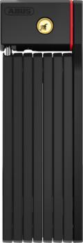Abus UGRIP Bordo 5700 Foldbar Sykkellås Sort, Nøkkel, 800 mm, 7/15