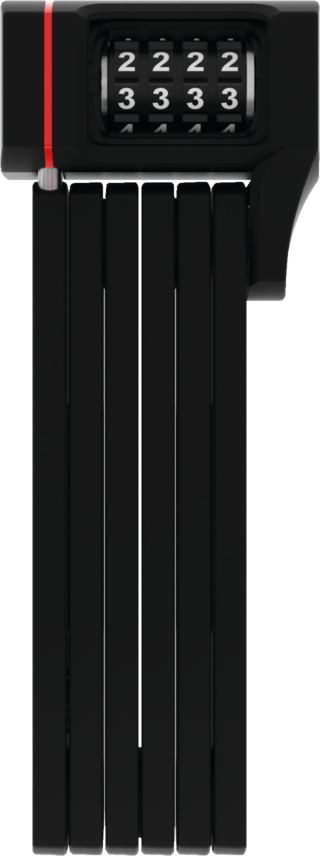 Abus UGRIP Bordo 5700 Foldbar Sykkellås Sort, Kode, 800 mm, 7/15