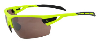 AGU Foss HD Glasögon Signalgul, Transparent och orange Linsr
