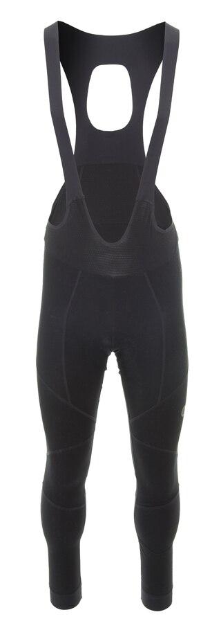 AGU Premium Woven Bib Shorts Svart, Knallgod racingytelse