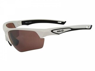 AGU Medina HD Glasögon Vit, Transparent och orange Linsr