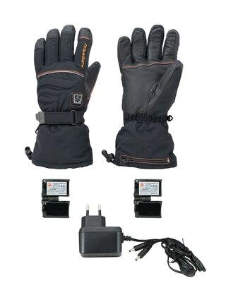 AlpenHeat AG2 Fire-Glove-handskar Svarta, med värmeelement