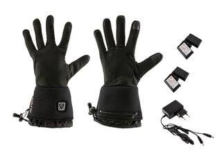AlpenHeat AG1 Fire-Gloveliner Handskar Svart, Med Varmeelementer