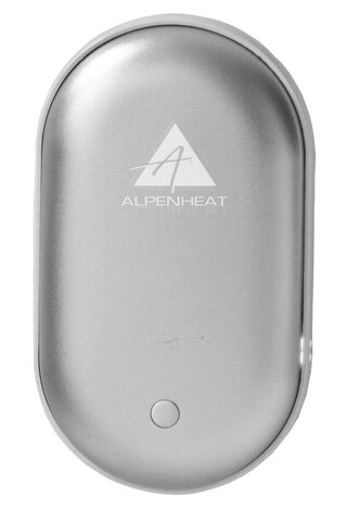 Alpenheat Powerbank Handvärmare Silver