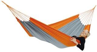 Amazonas Silk Traveller Hengekøye Oransje, 220 x 140 cm, 150 kg, 350g