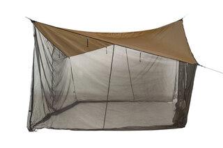 Amazonas Moskito Tarp Brun/Sort, 340 cm, 380g + 60g
