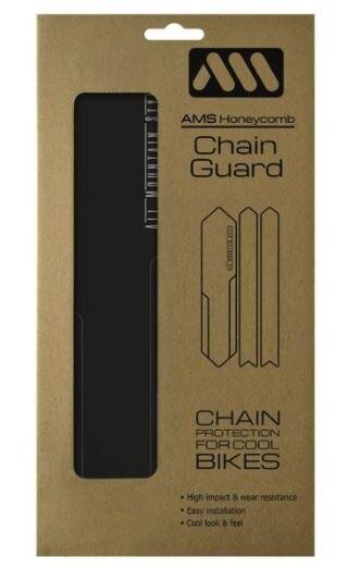 AMS Kjedestagbeskyttelse Sort, 60x270mm, 15gram