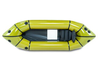 Anfibio Sigma TXV Packraft Grønn, For 2 personer, Transparent vindu