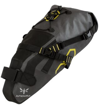 Apidura Expedition Saddle Pack 9L Grå, Vanntett, 325g, 9L
