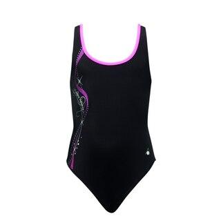 Aqua Sphere Bliss Junior Svømmedrakt Sort/Rosa