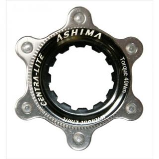 Ashima AC02 CL För 6-Bult Adapter Svart, Centerlock För 6-Bolt, 23 g