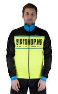 ATLET Elite Bikeshop Vinterjakke 2 Gul/Sort,  Windtex