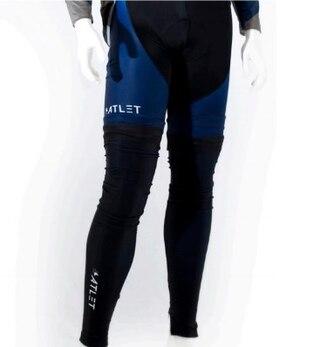 ATLET Elite Vinter Benvarmere Sort med hvit logo