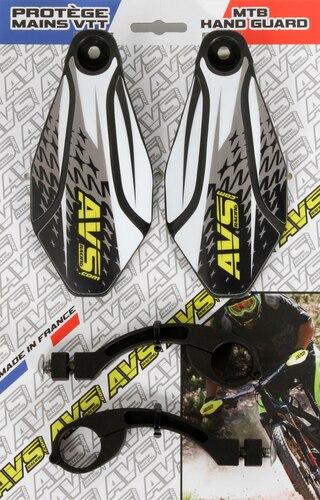 AVS Design Handskydd Svart/Vit
