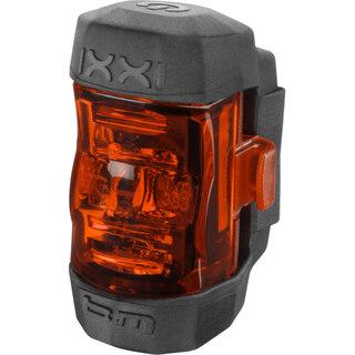 B&M IXXI Baklys Rød, USB Oppladbart, 35 g