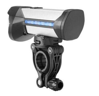 B&M IKON Rock Framlampa USB laddningsbart, 15/100 lux, 2,5t-25t
