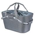 Basil 2Day Carry All MIK Bak Sykkelkurv Grå, Polyester, 22 liter