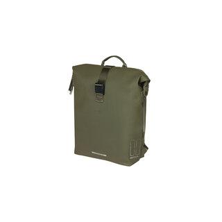 Basil SoHo BackPack Sideveske Moss Green, 17 liter