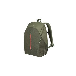 Basil B-Safe BackPack Sideveske Grønn, 18L, LED lys, Ryggsekk