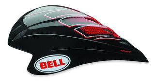 Bell Meteor 2 Hjelm Sort/rød, Str. S
