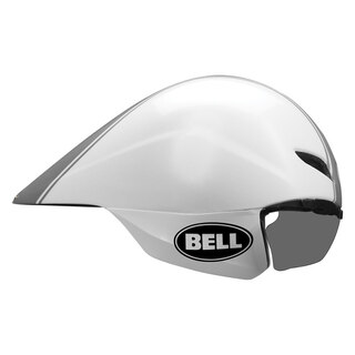 Bell Javelin Tempohjelm Hvit/Sølv, Svært aerodynamisk