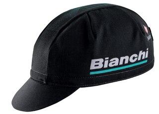 Bianchi Reparto Corse Race Caps Sort, Bomull, One Size