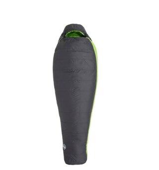 Big Agnes Boot Jack 25 Lang Sovsäck Grå/grønn,-4 °C Limit, , 1,05kg