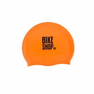 Bikeshop.no Silikon Badehette Hi-Vis Oransje, Onesize