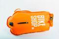 Bikeshop Swim Sikkerhetsbøye Hi-Vis Oransje, 28 liter, Høy kvalitet