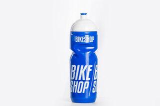 Bikeshop Aero 800 ml Flaske Blå/Hvit, 800ml, BPA fri, Laget i Italia