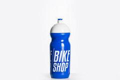 Bikeshop Aero 600 ml Flaske Blå/Hvit, 600ml, BPA fri, Laget i Italia
